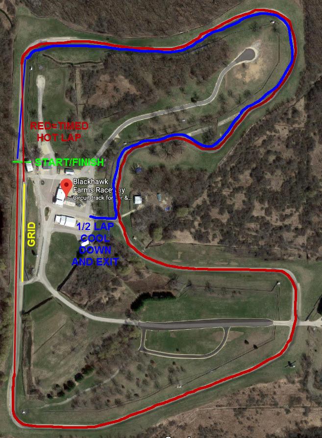 Blackhawk Farms HSAX Map